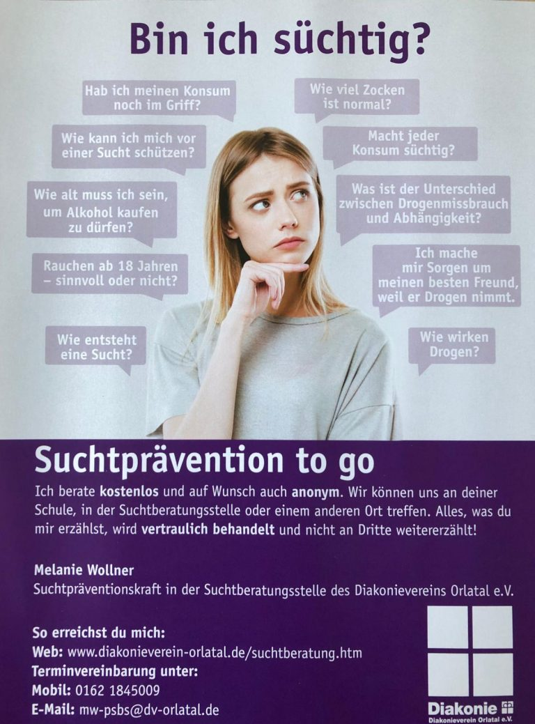 Suchtprävention to go
